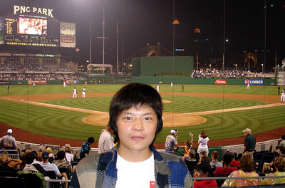 Masashi at PNC Park - Pittsburgh, PA ... June 11, 2005 ... Photo by Rob Page III