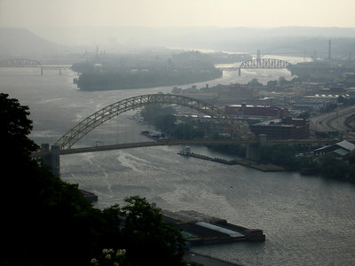 The Ohio River - Pittsburgh, PA ... June 11, 2005 ... Photo by Rob Page III
