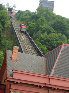 The Duquesne Incline - Pittsburgh, PA ... June 11, 2005 ... Photo by Rob Page III