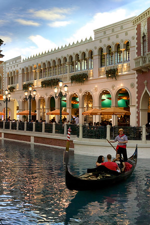 Gondoler in the Venetian