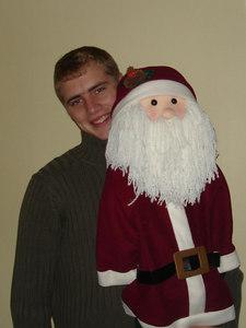Rob and Santa - Baton Rouge, LA ... December 17, 2005
