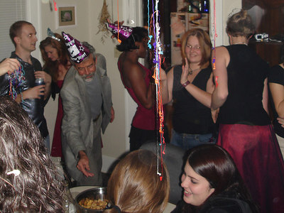 Enjoying the SLA TFA New Year's Party - Baton Rouge, LA ... December 17, 2005