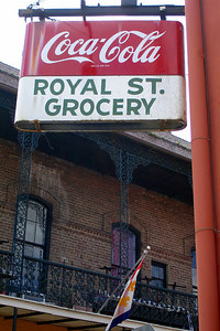 Coca Cola is everywhere - New Orleans, LA ... August 6, 2005 ... Photo by Rob Page III