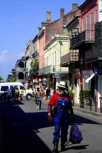 The French Quarter - New Orleans, LA ... August 6, 2005 ... Photo by Rob Page III