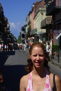 Emily in the French Quarter - New Orleans, LA ... August 6, 2005 ... Photo by Rob Page III