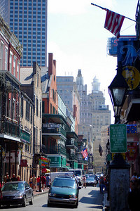 Bourbon St. - New Orleans, LA ... August 6, 2005 ... Photo by Rob Page III