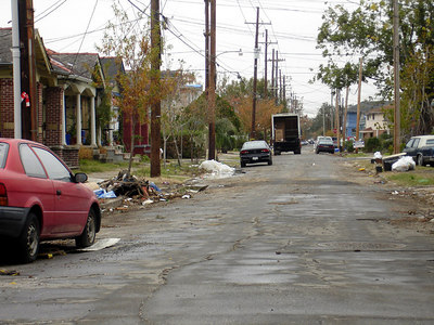 A street in the Central City / Garden District of New Orleans - New Orleans, LA ... December 17, 2005 ... Photo by Rob Page III
