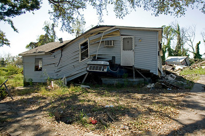 (Panetta) New Orleans, Lower 9th Ward - 1 year after Hurricane Katrina  (Oct, 2006)