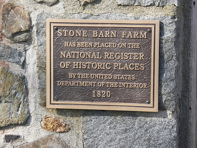 Stone Barn plaque