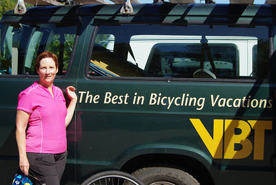 Our 7th trip with VBT.  VBT really is the best!