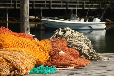 Fishing nets - Pemaquid, ME ... September 6, 2009 ... Photo by Rob Page III