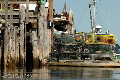 The working docks.  Too bad there weren't any lobster - Pemaquid, ME ... September 6, 2009 ... Photo by Rob Page III