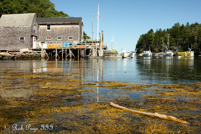 A lobstering community near Back Cove - Pemaquid, ME ... September 6, 2009 ... Photo by Rob Page III