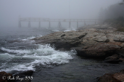 The waves from Hurricane Earl - Pemaquid, ME ... September 3, 2010 ... Photo by Rob Page III