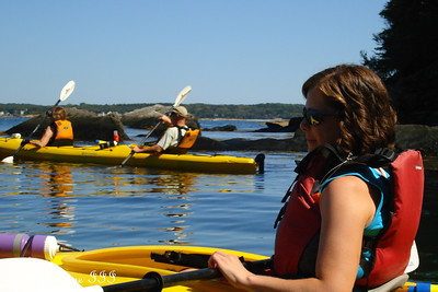 The Congers enjoying the beautiful day - Pemaquid, ME ... September 5, 2009 ... Photo by Rob Page III