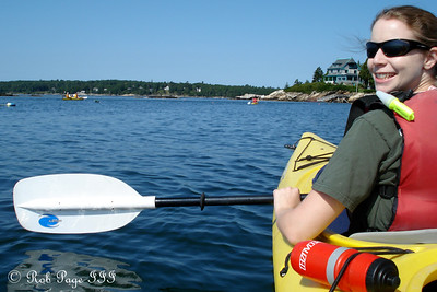 Enjoying the beautiful day - Pemaquid, ME ... September 5, 2009 ... Photo by Rob Page III