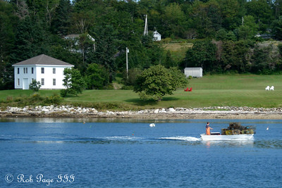 Out lobstering - Pemaquid, ME ... September 5, 2009 ... Photo by Rob Page III