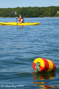 Out for a Saturday kayak - Pemaquid, ME ... September 5, 2009 ... Photo by Rob Page III