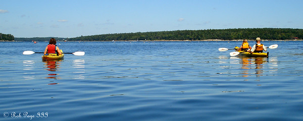 Nothing but open water - Pemaquid, ME ... September 5, 2009 ... Photo by Rob Page III