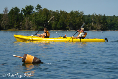 Out for a Saturday sea stroll - Pemaquid, ME ... September 5, 2009 ... Photo by Rob Page III