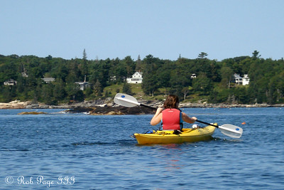 Jen enjoying the water - Pemaquid, ME ... September 5, 2009 ... Photo by Rob Page III