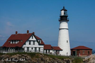 The Portland Head Lighthouse - Portland, ME ... August 30, 2013 ... Photo by Rob Page III