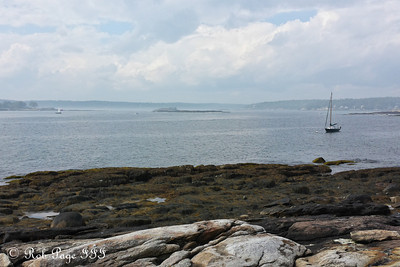 Loooking out to sea - New Harbor, ME ... September 1, 2013 ... Photo by Rob Page III