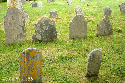 The Colonial Pemaquid graveyard - Pemaquid, ME ... August 27, 2006 ... Photo by Rob Page III