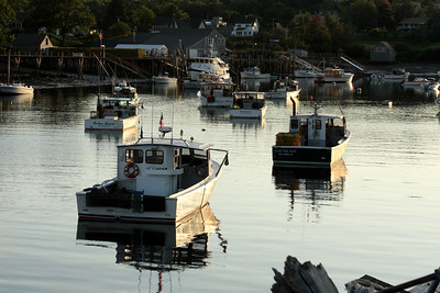 In port for the night - New Harbor, ME ... August 31, 2008 ... Photo by Rob Page III
