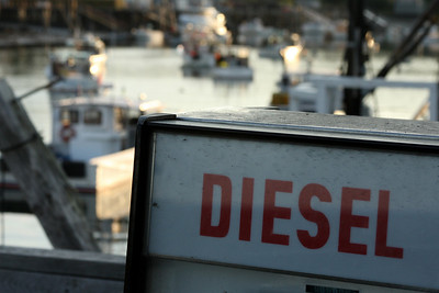 Some diesel for your boat? - New Harbor, ME ... August 31, 2008 ... Photo by Rob Page III