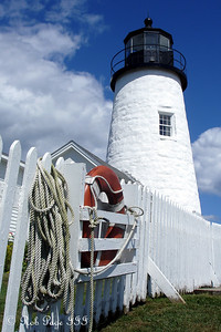 The Pemaquid Lighthouse - Pemaquid, ME ... September 1, 2007 ... Photo by Rob Page III
