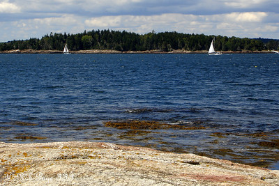 A couple sailboats enjoying the lovely afternoon - Pemaquid, ME ... September 1, 2007 ... Photo by Rob Page III