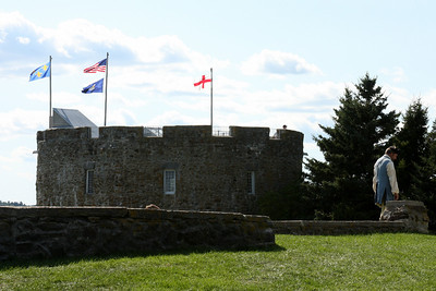 The old fort that used to protect Pemaquid - Pemaquid, ME ... August 31, 2008 ... Photo by Rob Page III
