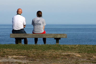 Looking out to sea - Pemaquid, ME ... August 29, 2008 ... Photo by Rob Page III