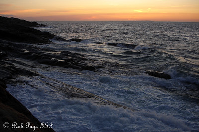 Sunrise - Pemaquid, ME ... September 3, 2007 ... Photo by Rob Page III