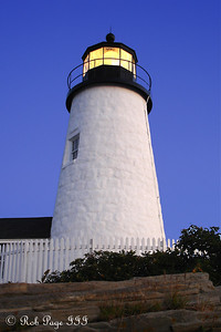 The Pemaquid Lighthouse - Pemaquid, ME ... September 3, 2007 ... Photo by Rob Page III