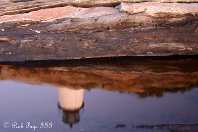 A rocky reflection - Pemaquid, ME ... September 6, 2009 ... Photo by Rob Page III
