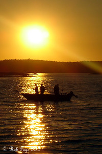 Fishing the evening away - Pemaquid, ME ... September 2, 2007 ... Photo by Rob Page III