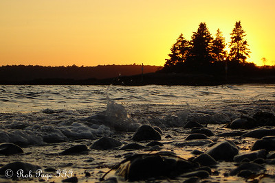 Sunset - Pemaquid, ME ... September 2, 2007 ... Photo by Rob Page III