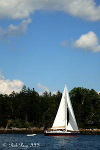 Out on the lobster boat - Pemaquid, ME ... September 4, 2010 ... Photo by Rob Page III