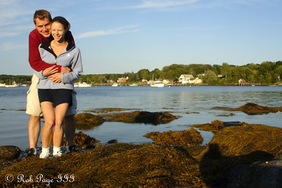 Emily and Rob enjoying the weekend - Pemaquid, ME ... September 2, 2007 ... Photo by Rob Page III