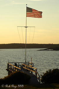 The American flag - Pemaquid, ME ... September 2, 2007 ... Photo by Rob Page III