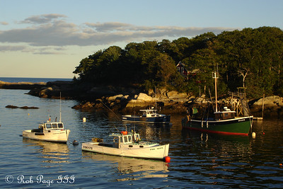Fishing boats - New Harbor, ME ... September 1, 2007 ... Photo by Rob Page III