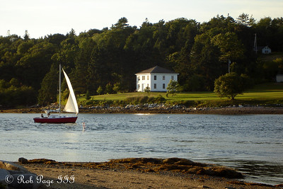 Coming into port - Pemaquid, ME ... September 2, 2007 ... Photo by Rob Page III