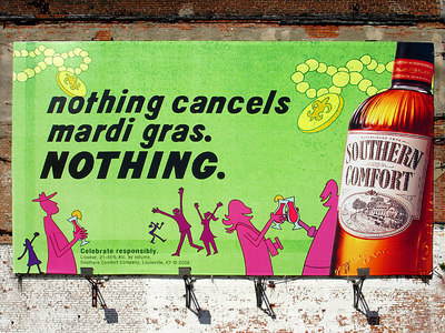 Nothing Cancels Mardi Gras, Nothing - New Orleans, LA ... February 26, 2006 ... Photo by Rob Page III