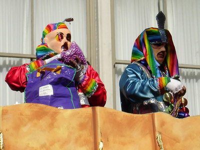 Mardi Gras on Canal Street - New Orleans, LA ... February 26, 2006 ... Photo by Rob Page III