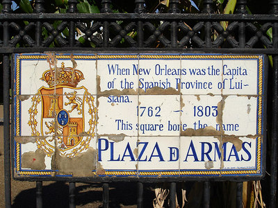 Jackson Square - New Orleans, LA ... February 27, 2006 ... Photo by Rob Page III
