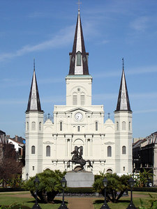 Jackson Square - New Orleans, LA ... February 26, 2006 ...  Photo by Emily Conger