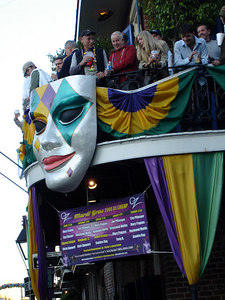Mardi Gras on Bourbon Street - New Orleans, LA ... February 26, 2006 ... Photo by Rob Page III