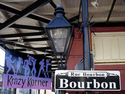 The Krazy Korner - New Orleans, LA ... February 27, 2006 ... Photo by Rob Page III
